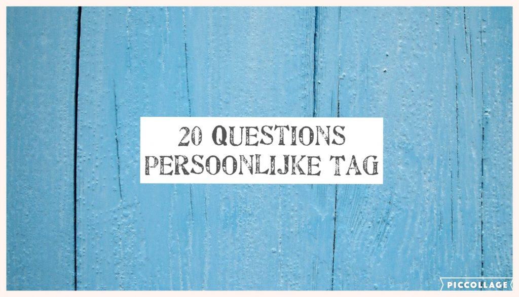 20 Questions: Persoonlijke Tag