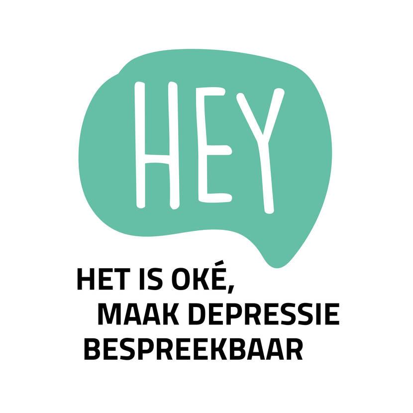 Hey, het is oké. Maak depressie bespreekbaar.