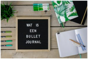 Wat is een Bullet Journal?