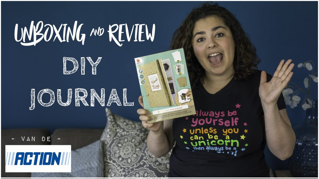 (YouTube) Review & Unboxing – DIY Journal van de Action