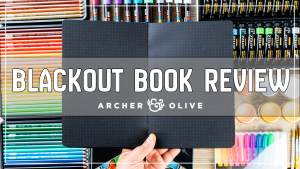 Een ZWARTE Bullet Journal ?! – Review Archer & Olive